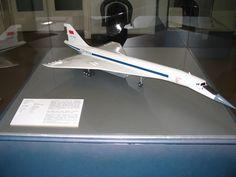 Tupolev Tu-144 model @ Dresden Museum