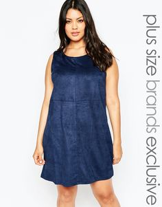 New Look Inspire Suedette Tunic Dress