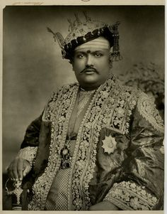 Maharaja of Hutwa - 1900's