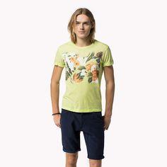 Hilfiger Denim Raphael Camiseta - sunny lime-pt (Amarillo / Naranja) -  Hilfiger