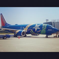 Southwest Airlines plane at Long Island MacArthur Airport. #ISP