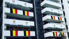 Team Belgium huist op de Olympische Spelen in Rio de Janeiro in appartementen die toen de delegatieleiders aankwamen om kwartier te…
