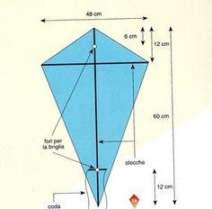 Come Costruire Un Aquilone Quadrangolare Semplificato | Saperlo.it