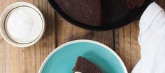 Gluten Free Chocolate Polenta Cake with Chili and Orange - Colavita Recipes