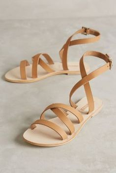 classic gladiator sandals… perfect with shorts and dresses for summer