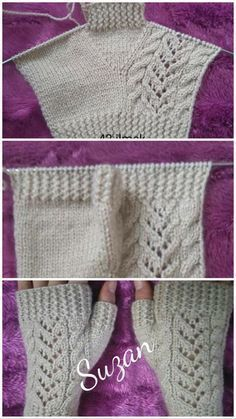 if you've ever wondered how to knit a pair of fingerless mittens, this Easy Fingerless Mitts Free Knitting Pattern is just for you.Einfache fingerlose Handschuhe Free Knitting Pattern Source by spSome Tips, Tricks, And Techniques For Your Perfect easy kni Baby Knitting Patterns, Crochet Gloves Pattern, Knitting Designs, Crochet Lace, Crochet Patterns, Crochet Socks, Mittens Pattern, Afghan Crochet, Lace Patterns