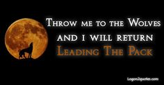 I will return leading