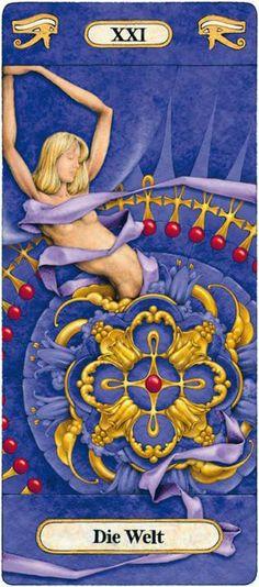 XXI. The World - Temple of Secrets by Reinhard Schmid