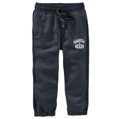 Boys 4-8 OshKosh B'gosh® Fleece-Lined Cinched Cuff Pants, Boy's, Size: