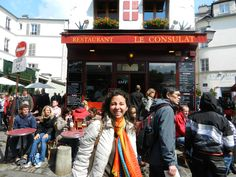 muito mal frequentado:  Cézanne, Renoir, Monet e Vincent Van Gogh... Le Consulat, Paris