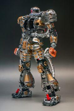 Painted Build: MG 1/100 Char\'s Zaku II Clear ver. \