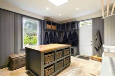 The perfect mud room