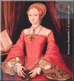 Elisabeth I. von England Biografie - die junge Prinzessin Elizabeth