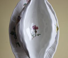 Villeroy and Boch Bouquet rare gravy boat by MyVintagePorcelain