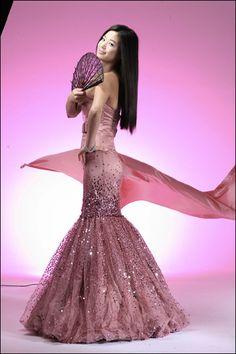Sweet sixteen Long mermaid dress