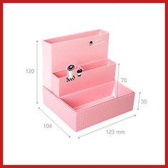 Bidlook tablero de papel bricolaje caja de almacenamiento de escritorio decoración organizador papelería maquillaje cosmético 02 de la alta calidad(China (Mainland))