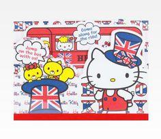 Hello Kitty Die-Cut Memo Pad: London