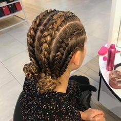 Details @lilyjeanbridger 😍#braidbae #hairoftheday #braids #beautyandfashion #lilyjeanbridger #thebraidbar 💫 Volleyball Braids, Volleyball Hairstyles, Volleyball Tips, Cool Braid Hairstyles, African Hairstyles, Girl Hairstyles, Casual Braids, Beauty And Fashion, Braid Styles