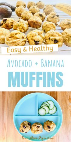 Healthy Lunches For Kids, Healthy Toddler Meals, Toddler Snacks, Easy Healthy Breakfast, Kids Meals, Healthy Snacks, Breakfast Meals, Toddler Muffins, Toddler Dinners