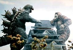 Posts about Godzilla vs King Kong written by Horror Monsters, Cool Monsters, Famous Monsters, Classic Monsters, King Kong Vs Godzilla, Godzilla Godzilla, Old Posters, Giant Monster Movies, Japanese Monster