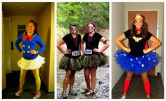 Running costume ideas and instructions Tough Mudder, First Halloween, Easy Halloween Costumes, Run Disney, Disney Fun, Marathon Gear, Tutu Costumes, Costume Ideas, Running Costumes