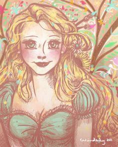 Rapunzel by winderly