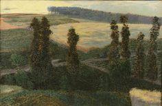 Antonín Hudeček (1873-1942), Paysage d'été - 1900/05