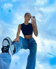 Trendy Outfits, Summer Outfits, Cute Outfits, Fashion Outfits, Fashion Tips, Mode Ootd, Foto Casual, Insta Photo Ideas, Casual Look