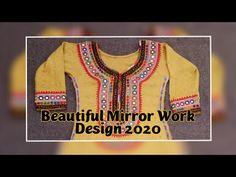 Embroidery Mirror Work, sindhi dress, Barth design 2020, Best Design For Girls, - YouTube Mirror Work Kurti, Mirror Work Dress, Sindhi Dress, Work Suits, Designer Dresses, Cool Designs, Dresses For Work, Embroidery, Sweatshirts