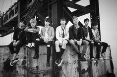 BTS look artistic in black-and-white teaser images | allkpop.com