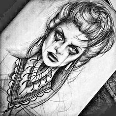 This would look amazing on my forearm. Tattoo Sketches, Drawing Sketches, Tattoo Drawings, Art Drawings, Witch Tattoo, Medusa Tattoo, Pencil Art, Pencil Drawings, Gothic Drawings