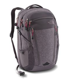northface WOMEN'S SURGE TRANSIT BACKPACK $139.00 WEIGHT: 1420g (3lb 2oz) VOLUME: 35L (2136in³)