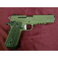 Sig Sauer 1911 Green is the Way !