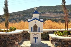 roadside shrine | Sifnos locals build memorials — this being… | Flickr