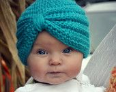 Babies in turbans are the best!  Little Edie Beale would be proud.