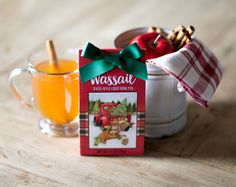 Our spiced apple cider will warm up your holiday season!  #brownlow #gifts #brownlowgifts #christmas #holidays #kitchen #food #gourmet