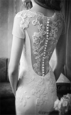 Adore the back of this dress!