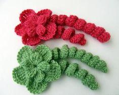 Ravelry: Tutorial Crochet Pattern Beautiful Curly Flower By Lyubava Crochet pattern by Lyubava Crochet.make barretts You're going to love Flower With Curls Tutorial by designer Lyubava Crochet.Looking for a crocheting pattern for your next project? Crochet Puff Flower, Crochet Flower Tutorial, Crochet Flower Patterns, Flower Applique, Crochet Designs, Crochet Flowers, Pattern Flower, Pattern Leaf, Crochet Bows Free Pattern