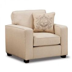 Wisdom Beige Chair. This set would be really great after college. It would look cute with my current furniture! Afw (add burlap curtains)