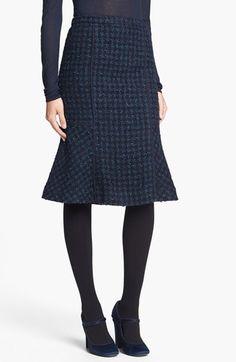 Tory Burch 'Sloane' Tweed Skirt   Nordstrom - Fall shapes