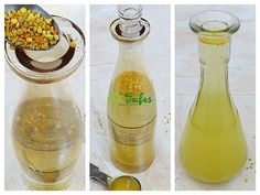 hidromel - băutură din miere și polen reteta Home Remedies, Natural Remedies, Healthy Drinks, Healthy Recipes, Healthy Food, The Cure, Deserts, Food And Drink, Cooking Recipes