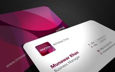 INNOVA INTERACTIVE - IDENTITY by Mohd Almousa, via Behance