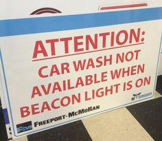 Printed sign on aluminum. #signage #printing #aluminum #signs