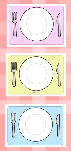 Twinkl Resources >> Editable Plate Templates >> Thousands of printable primary teaching resources for EYFS and beyond! Creative Activities, Educational Activities, Primary Teaching, Teaching Resources, Kids Restaurants, Eat The Rainbow, Food Themes, Pre School, Preschool Activities