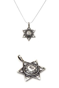 Star of David Coin Jewelry  Coin Charms   Coin Pendant by NoaTam