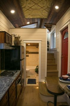 Dual Loft Theater Tiny House by Tiny Heirloom This is a Theater-inspired Tiny Home on Wheels by Tiny&; Dual Loft Theater Tiny House by Tiny Heirloom This is a Theater-inspired Tiny Home on Wheels by Tiny&; Krysta Marie […] Homes Diy loft Tyni House, Tiny House Cabin, Tiny House Living, Tiny House Plans, Tiny House On Wheels, Cozy House, Living Room, Tiny House With Loft, Small Living