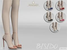Sims 4 CC's - The Best: Madlen Bisido Shoes by MJ95