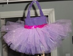 Party Favor Size Rapunzel Tangled Tutu Tote Bag by SewPizazzed, $9.00