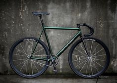 1995 Cannondale Track, Icelandic Green.