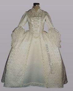 18th century wedding dresses images
